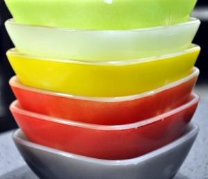 Grandma's pretty bowls