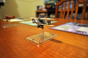 A plane from the Wings of War game